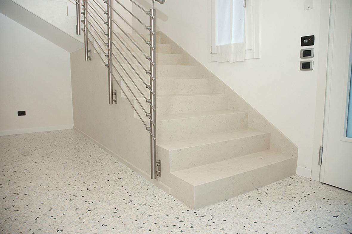 Scale interne in marmo tutto su ispirazione design casa - Scale in marmo moderne ...